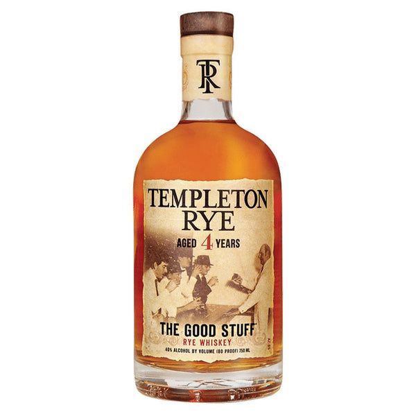 Templeton Rye Whiskey - Available at Wooden Cork