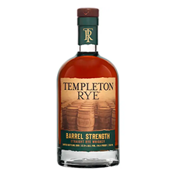 Templeton Rye Barrel Strength - Available at Wooden Cork
