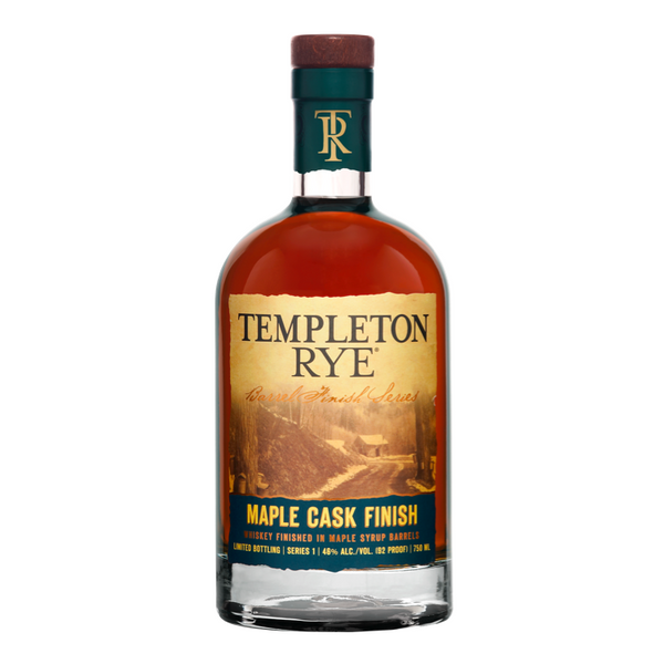 Templeton Rye Maple Cask Whiskey - Available at Wooden Cork