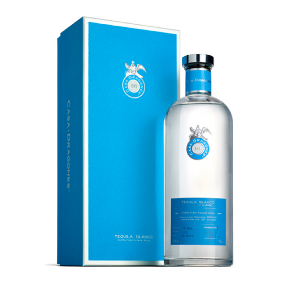 Tequila Casa Dragones Blanco - Available at Wooden Cork