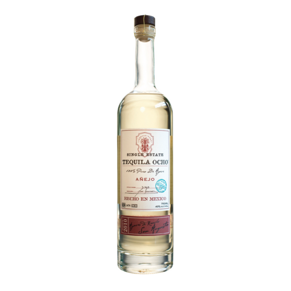Tequila Ocho Anejo - Available at Wooden Cork