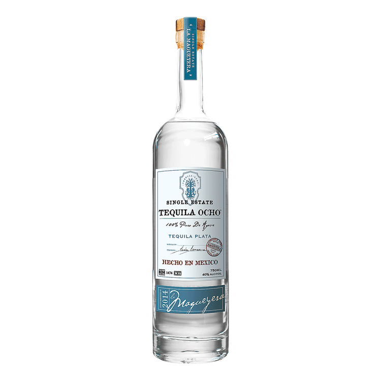 Tequila Ocho Plata - Available at Wooden Cork