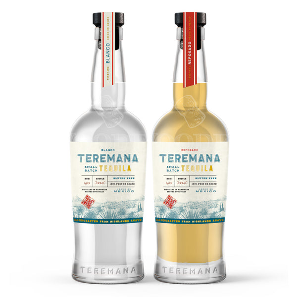 Teremana Blanco & Reposado Tequila Bundle - Available at Wooden Cork