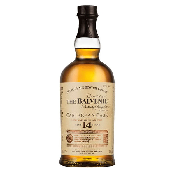 Balvenie 14 Year Caribbean Cask - Available at Wooden Cork