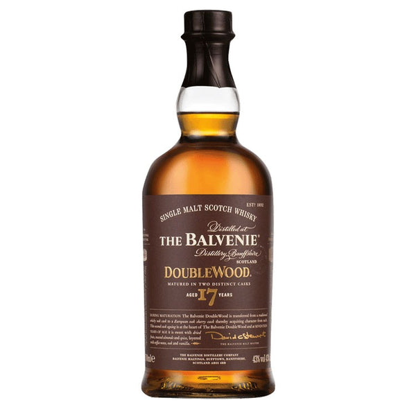 Balvenie 17 Year DoubleWood - Available at Wooden Cork
