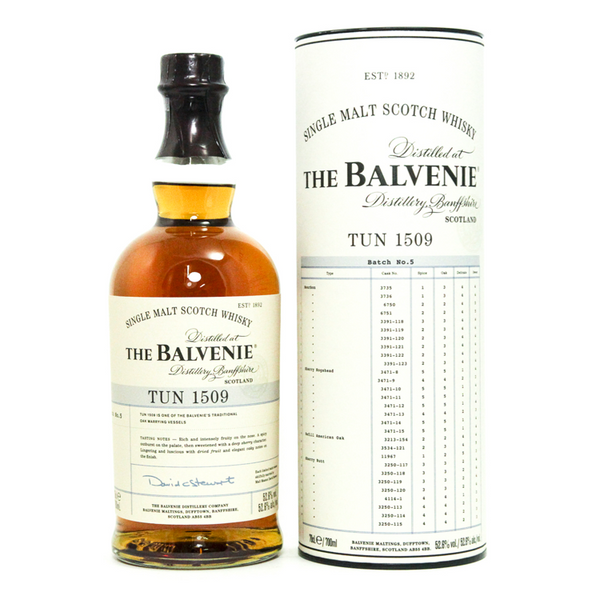 The Balvenie Tun 1509 Batch 6 - Available at Wooden Cork