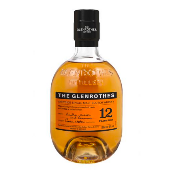 The Glenrothes 12 Year Old Single Malt Scotch Whisky - Available at Wooden Cork