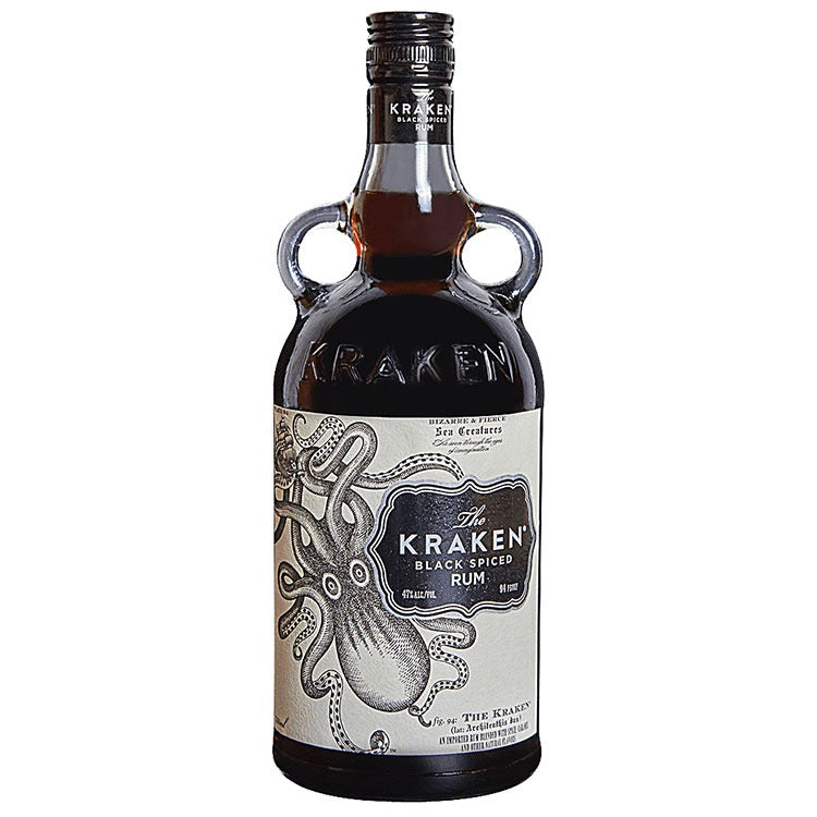 Kraken Black Spiced Rum - Available at Wooden Cork