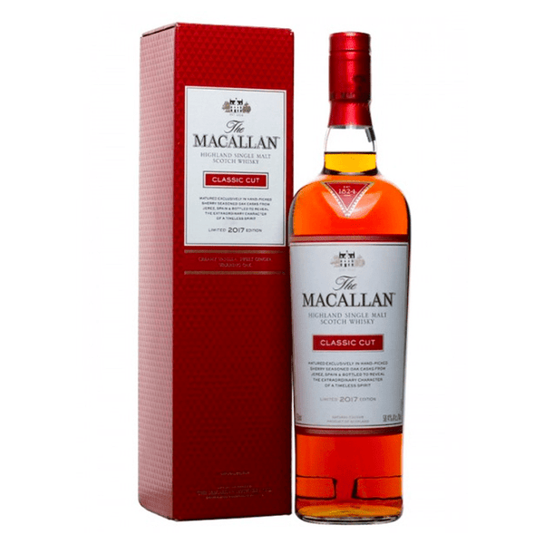 The Macallan Classic Cut 2018 Single Malt Scotch Whiskey - Available at Wooden Cork