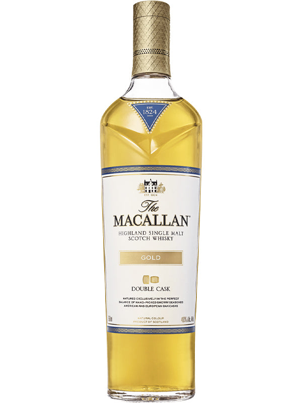 The Macallan Double Cask Gold Scotch Whisky - Available at Wooden Cork