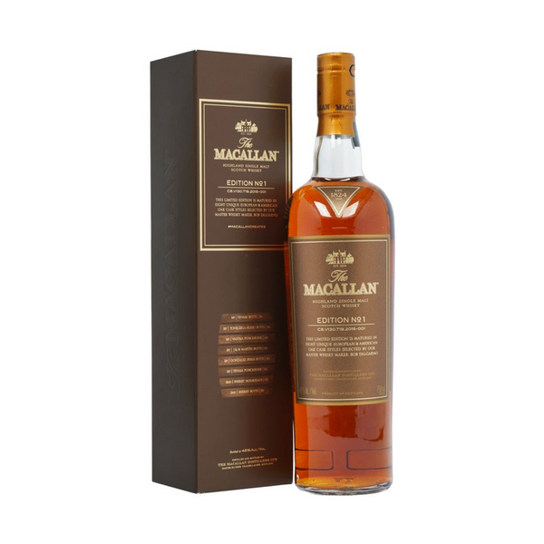 The Macallan Edition No. 1 - Available at Wooden Cork