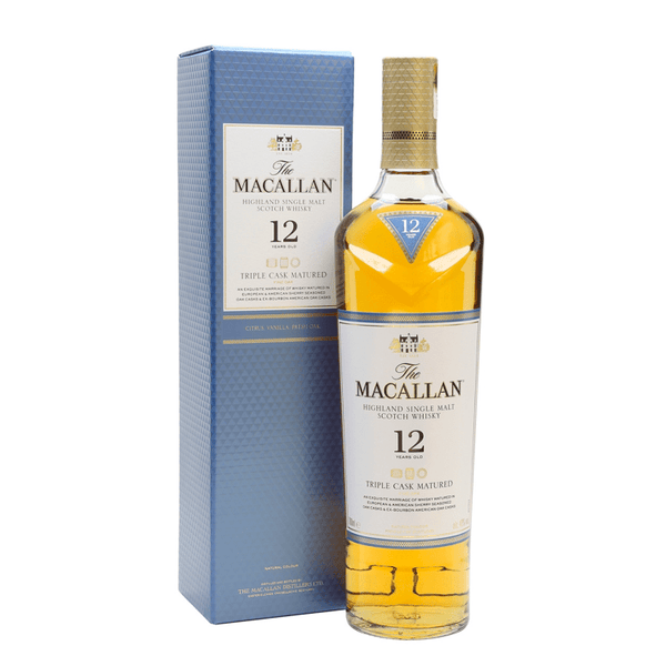 The Macallan Triple Cask Matured 12 Years Old - Available at Wooden Cork