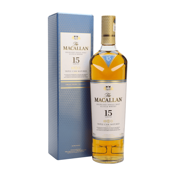 The Macallan Triple Cask Matured 15 Years Old - Available at Wooden Cork