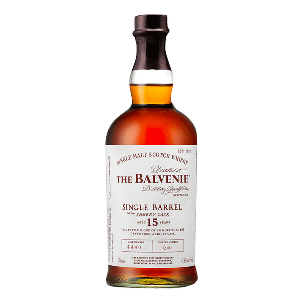 The Balvenie Single Barrel 15 Year - Available at Wooden Cork