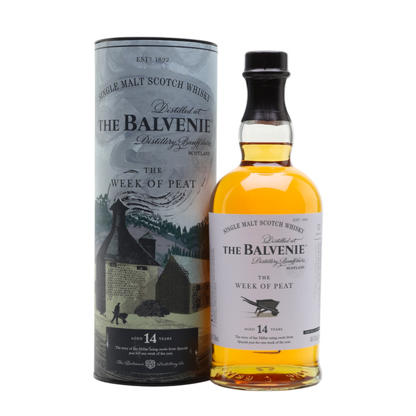 The Balvenie The Week Of Peat 14 Year Old - Available at Wooden Cork