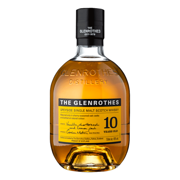 The Glenrothes Single Malt 10 Year - Available at Wooden Cork
