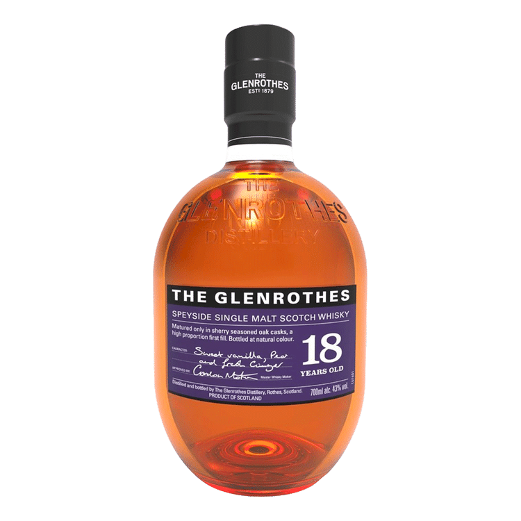The Glenrothes Single Malt 18 Year - Available at Wooden Cork