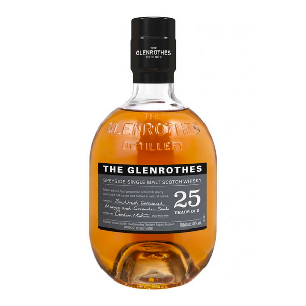 The Glenrothes Single Malt 25 Year - Available at Wooden Cork