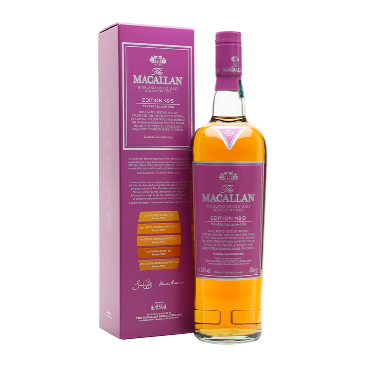 The Macallan Edition No. 5 - Available at Wooden Cork