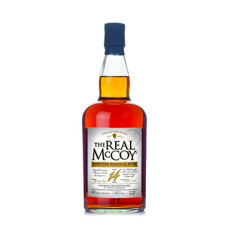 The Real McCoy 14 Year Rum - Available at Wooden Cork