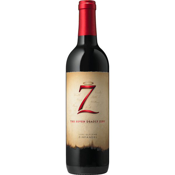 The Seven Deadly Zins Zinfandel  The Seven Deadly Zins