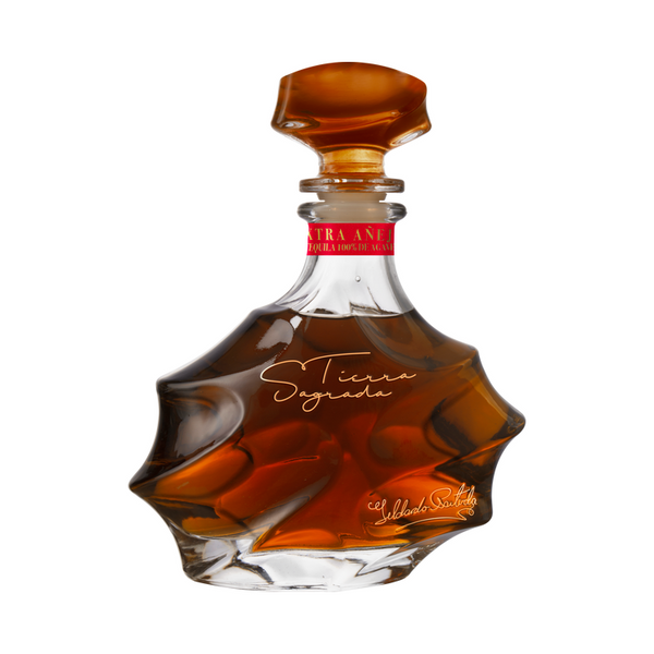 Tierra Sagrada Extra Anejo Tequila - Available at Wooden Cork