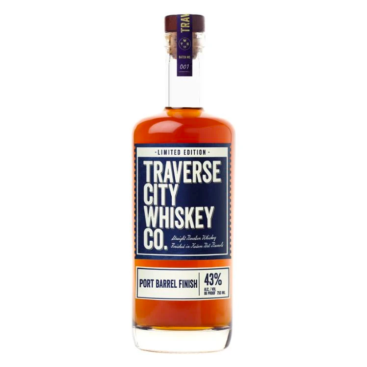 Traverse City Whiskey Co. Limited Edition Port Barrel Finish - Available at Wooden Cork