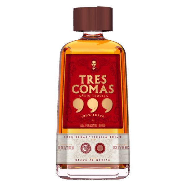 Tres Comas Anejo Tequila - Available at Wooden Cork