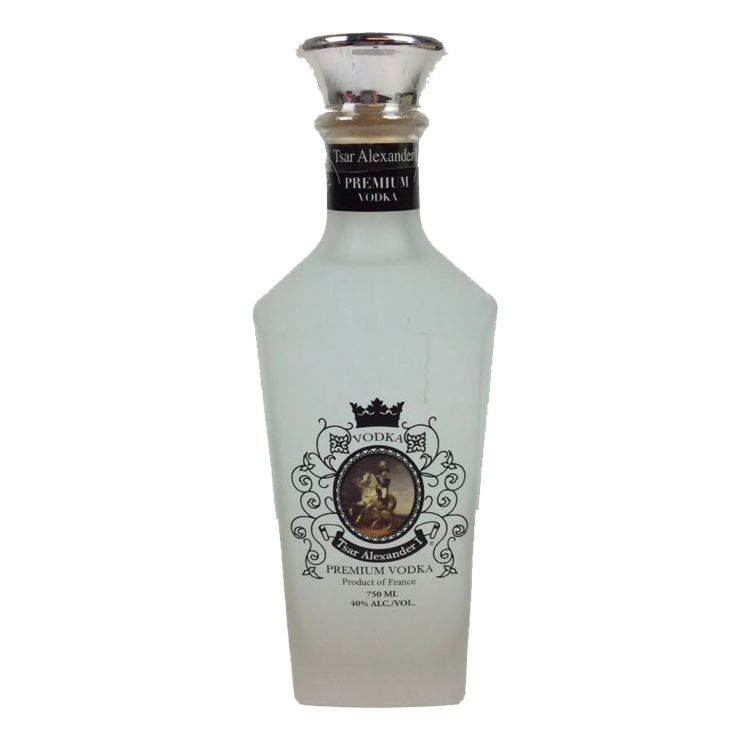 Tsar Alexander Vodka - Available at Wooden Cork