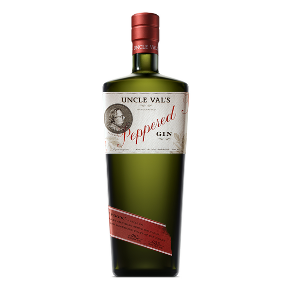 Uncle Val's Peppered Gin - Available at Wooden Cork