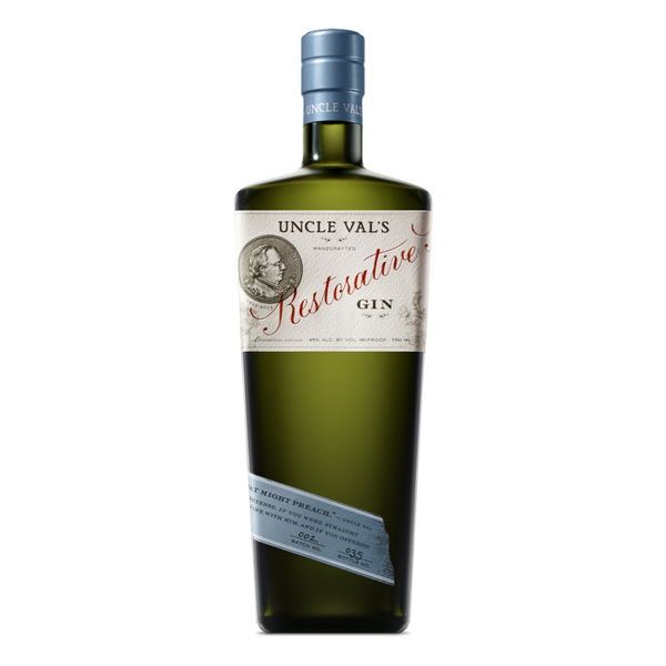 Uncle Val's Restorative Gin - Available at Wooden Cork