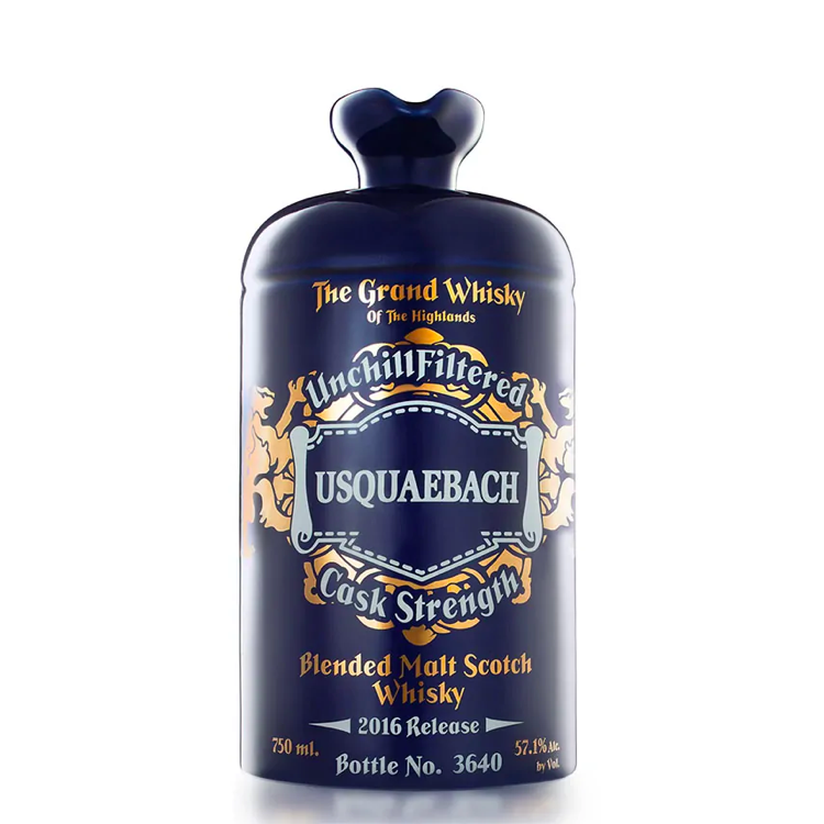 Usquaebach Cask Strength 2016 Release - Available at Wooden Cork
