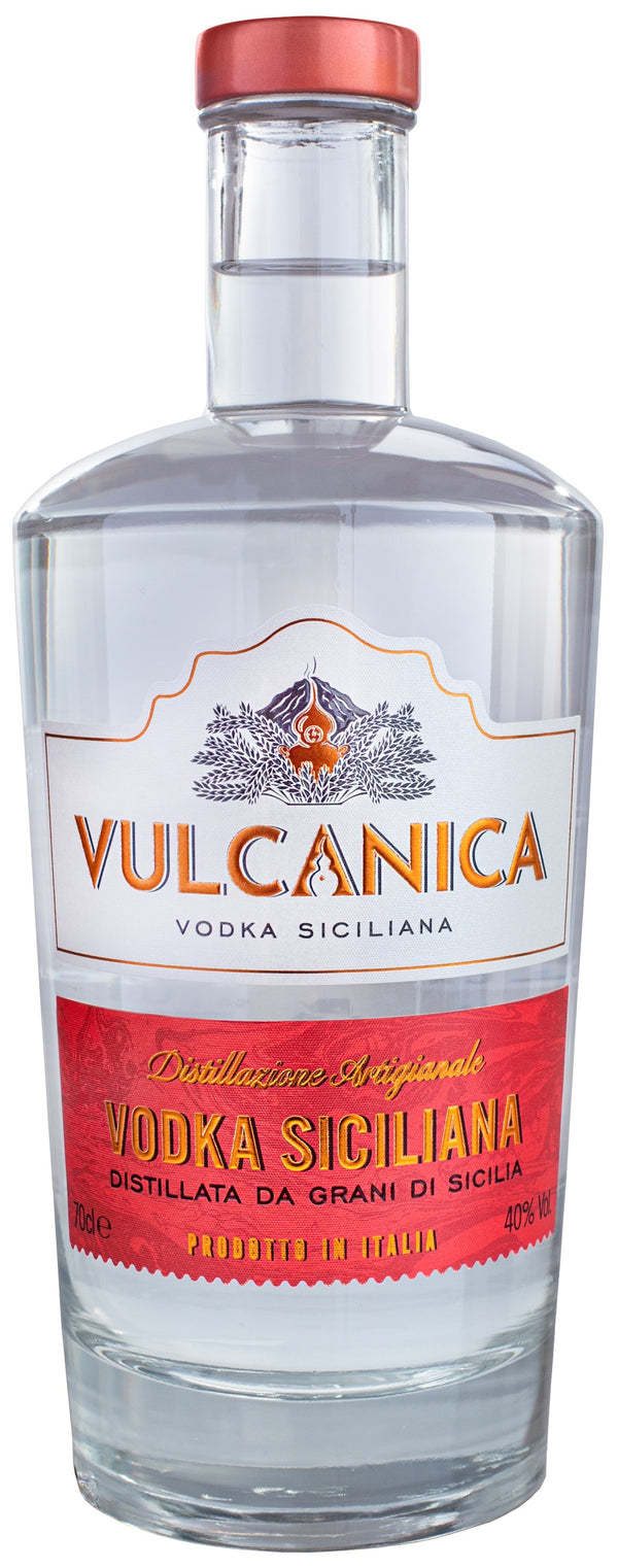 Vulcanica Vodka - Available at Wooden Cork