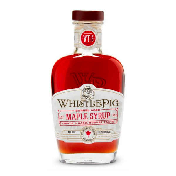 WhistlePig Barrel Aged Maple Syrup - Available at Wooden Cork
