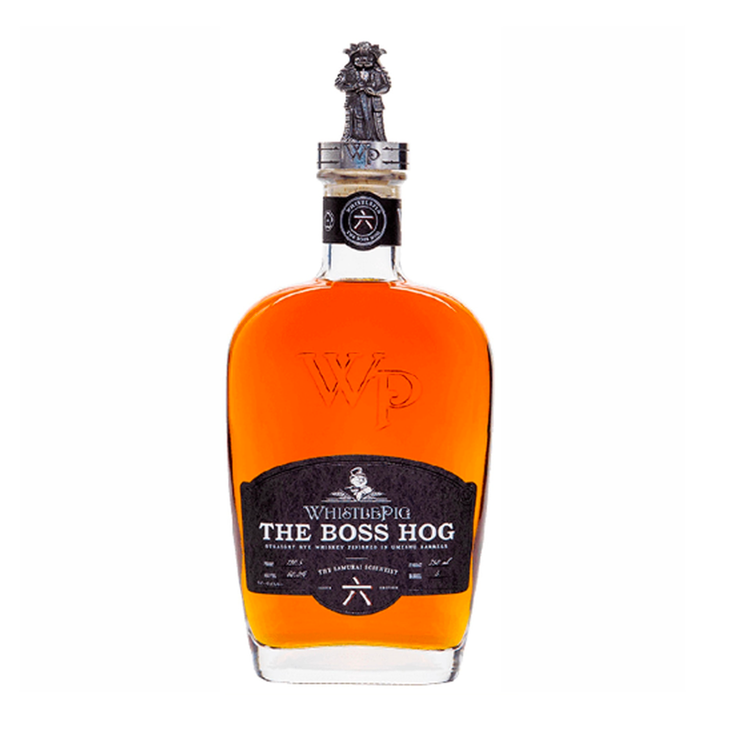 "WhistlePig The Boss Hog ""The Samurai Scientist"" - Available at Wooden Cork"