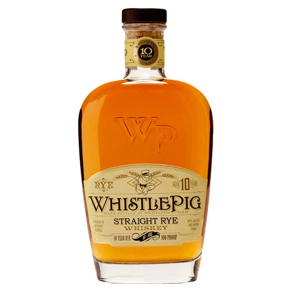 WhistlePig Straight Rye 10 Year - Available at Wooden Cork