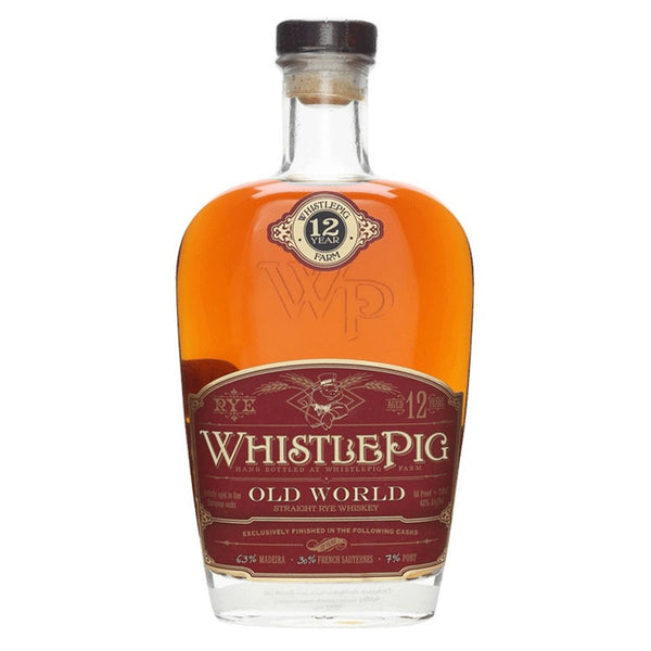 WhistlePig Old World 12 Year - Available at Wooden Cork