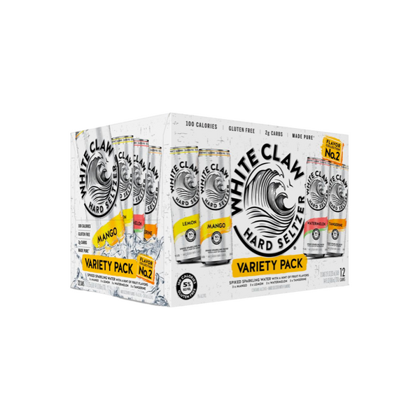 White Claw Hard Seltzer Variety Pack No. 2 12pk - Available at Wooden Cork