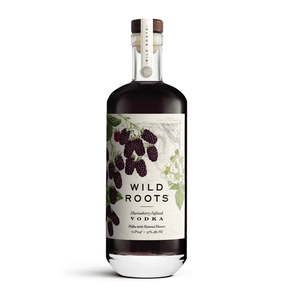 Wild Roots Marionberry Infused Vodka - Available at Wooden Cork