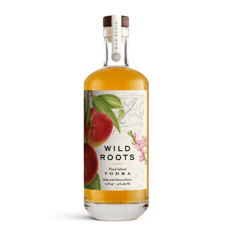 Wild Roots Peach Infused Vodka  by Wild Roots