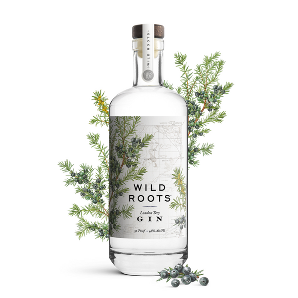 Wild Roots London Dry Gin - Available at Wooden Cork