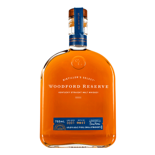 Woodford Reserve Straight Malt Whiskey - Available at Wooden Cork