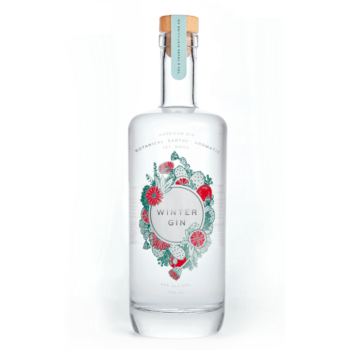 You & Yours Winter London Dry Gin - Available at Wooden Cork