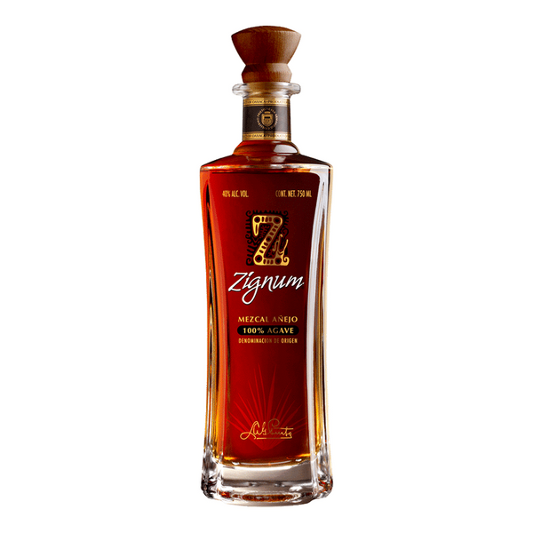 Zignum Mezcal Anejo Tequila - Available at Wooden Cork