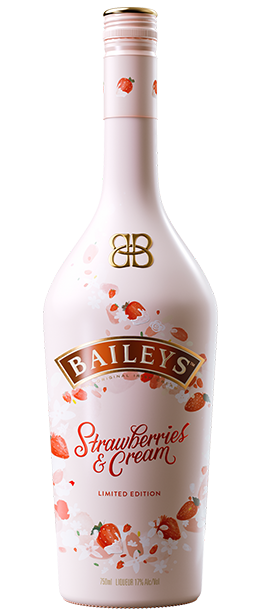 Bailey's Strawberries and Cream - Available at Wooden Cork