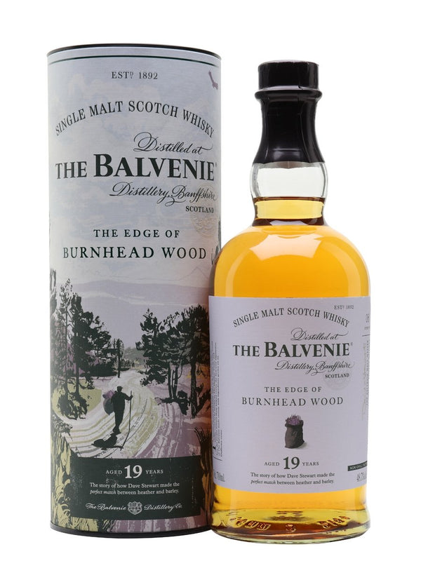 The Balvenie 19 Year Old The Edge Of Burnhead Wood Single Malt Scotch Whisky - Available at Wooden Cork