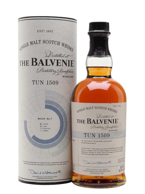 Balvenie Tun 1509 Batch 7 Scotch Whisky - Available at Wooden Cork