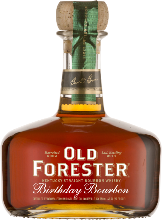 Old Forester Birthday Bourbon - 2014 Release - Available at Wooden Cork