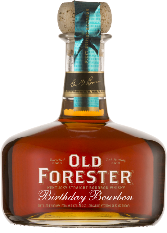Old Forester Birthday Bourbon - 2015 Release - Available at Wooden Cork