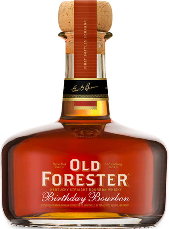 Old Forester Birthday Bourbon - 2016 Release - Available at Wooden Cork